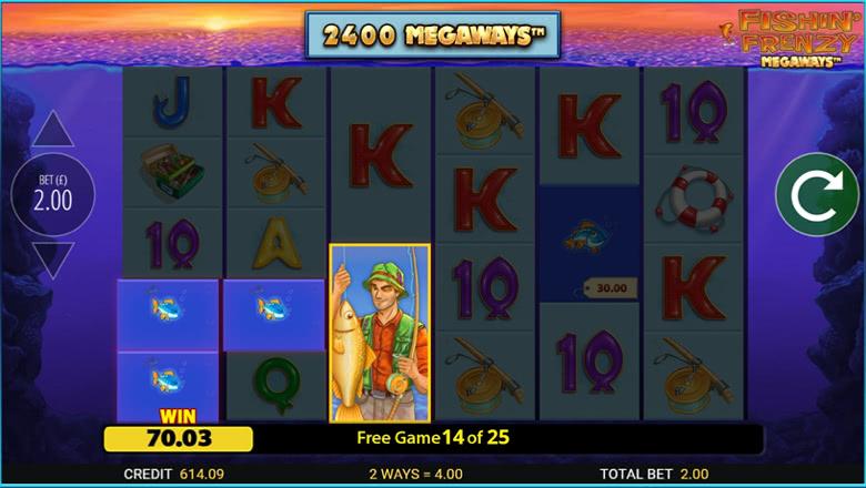 Fishin Frenzy Megaways Screenshot